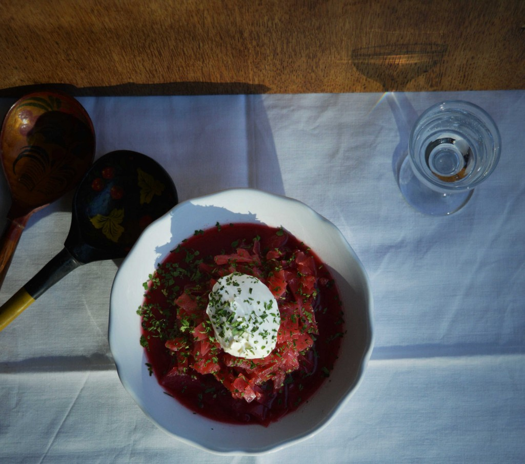 Borscht soup by Due fili d'erba
